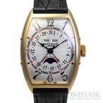 【中古】フランクミュラー トノウ カーベックス マスターカレンダー ムーンフェイズ Ref.5850MC L YG(イエローゴールド) 自動巻き-腕時計