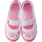 Yahoo!ムーンスター 公式ショップムーンスター [セール50%OFF]  子供靴 上履き ジュエルペット ジュエルバレー01 ピンク 上靴 入園式 入学式 moonstar