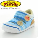 アンパンマン 【セール】 子供靴 ベビーサンダル APM B21 ブルー サマーシューズ moonstar
