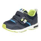 ムーンスター キャロット 子供靴 キッズスニーカー CR C2146 ネイビー 【急速乾燥】 moonstar