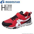 子供靴 【セール50%OFF】 キッズスニーカー ムーンスター MS C2164 レッド moonstar
