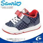 サンリオ [セール] ハローキティ 子供靴 キッズスニーカー SAN C002 ネイビー