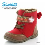 サンリオ [セール] シナモロール 子供靴 女子 キッズブーツ SAN C003 レッド