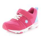 ムーンスター 女の子 子供靴 キッズスニーカー 抗菌防臭 撥水加工 幅細め1E MS C2257 ピンク moonstar