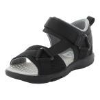 ムーンスター キャロット [21年春新作] moonstar carrot 子供靴 サンダル MS C2281 ブラック