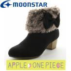 子供靴 ジュニアブーツ 【セール】 ムーンスター SG J455 ブラック