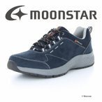 ムーンスター moonstar メンズ ウォーキングシューズ  SPLT M196 ネイビー 防水 幅広4E 抗菌防臭 梅雨