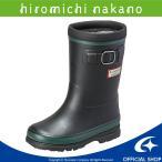長靴 キッズ ヒロミチナカノ [セール] 子供靴 女子 レインブーツ HN WC171R ブラック moonstar 防水タイプ