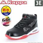 ショッピングスノーシューズ カッパ Kappa スノトレ メンズ/レディース KP STU45 スコーパST ブラック/レッド 防水設計 スノーシューズ