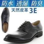ショッピングビジネス ビジネスシューズ メンズ 紳士靴 透湿防水 ムーンスター ワールドマーチ WM2107 本革 Uチップ ブラック 3E moonstar