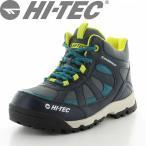 HI-TEC(ハイテック) 【2017年春NEW】 子供靴 アウトドアシューズ HT HKJ07 ロックネスWP KIDS ネイビー