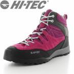 ショッピングトレッキングシューズ HI-TEC(ハイテック) 【2017年春NEW】 メンズ/レディース アウトドアシューズ HT HKU06 アオラギMID WP ピンク