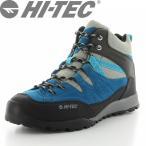 HI-TEC(ハイテック) メンズ/レディース アウトドアシューズ HT HKU06 アオラギMID WP ブルー
