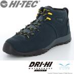 ハイキングシューズ メンズ 透湿防水 ハイテック HT HKU08 AORAKI CLASSIC WP ブラック