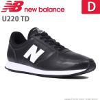 ニューバランス newbalance [セール] メンズ/レディース スニーカー NB U220 TD D ブラック