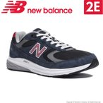 ショッピングウォーキングシューズ ニューバランス メンズ ウォーキングシューズ MW880 NR3 2E ネイビー/レッド newbalance