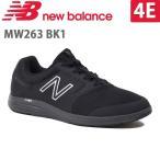 ニューバランス メンズ ウォーキングシューズ NB MW263 4E BK1 ブラック newbalance