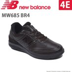 ショッピングウォーキングシューズ ニューバランス メンズ ウォーキングシューズ NB MW685 4E BR4      ブラウン newbalance