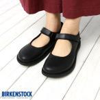 ショッピングビルケン ビルケンシュトック BIRKENSTOCK ジューン ブラック JUNE 493041 レディース フラットシューズ ストラップ スムースレザー