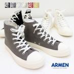 アーメン ARMEN ハイカット スニーカー NAMC0702 キャンバス シンプル 靴 女性用 レディース