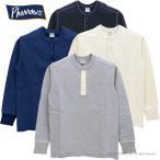 (フェローズ) PHERROW'S ヘンリーネック 長袖Tシャツ PCT2(4色)