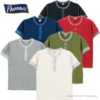 フェローズ PHERROW'S ヘンリーネック 半袖Tシャツ PHT