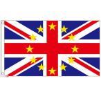 海外限定 国旗 イギリス 欧州連合 EU 特大フラッグ