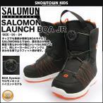 サロモン LAUNCH BOA JR BLACK/RED L37597900 [2015-2016モ...