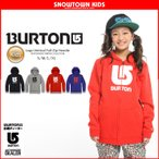 15-16 2016 BURTON バートン Logo Vertical Full-Zip Hoodie ロゴバーティカルフルジップフーディ キッズ スノーウェア フード ジュニア 子供