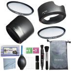 Canon EOS Kiss X10 X9i X9 X8i X7i ダブルズームレンズキット 13点セット クリーニングキット レンズフード EW-63C ET-63 フィルター
