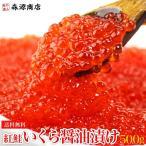 ( いくら イクラ ) 紅鮭 醤油漬け 500g(250g×2P) さけ 鮭 サケ 海鮮 丼 軍艦 手巻き 寿司 ちらし 送料無料 冷凍便