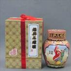 陳年加飯酒 彩壜浮彫酒(サイウンウキボリシュ) 短首