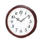 ショッピング壁掛け 壁掛け時計 セイコー HS554B  電波時計 エンブレム 木枠 SEIKO EMBLEM 裏面のみ文字入れ対応、有料 取り寄せ品