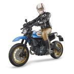 車のおもちゃ BRUDER ブルーダー Ducati スクランブラ