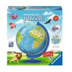 立体パズル ジグソーパズル ラベンズバーガ— 3Dパズル どうぶつ地球儀(180ピース)7歳から