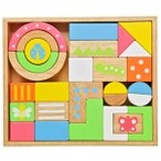 木のおもちゃ 積み木 ベビー 赤ちゃん 10か月 エデュテ SOUND ブロックス LARGE LA-008