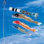 ショッピングベランダ 鯉のぼり こいのぼり 錦鯉 江戸錦鯉 1.2m 水袋 スパン飛龍吹流し ホームセット S型スタンドセット 12号
