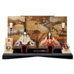雛人形 一秀 コンパクト 木目込み 親王飾り H-82 おしゃれ かわいい 同時購入にて木札1円対象商品
