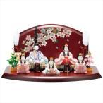 雛人形 一秀 コンパクト 木目込み 五人飾り I-15 おしゃれ かわいい 同時購入にて木札1円対象商品