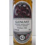 グレンリヴェット 42年 1966  ケルティックラベル Glenlivet