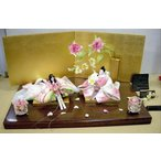 アート&デザイン後藤由香子作 ロイヤルローズウェディング 創作雛人形平飾り