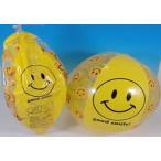 ビーチボールニコちゃん35cm 1個 黄色のみの単色です。