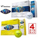 ショッピングツアーステージ ツアーステージ TOURSTAGE V10 ゴルフボール 4ダースセット ブリヂストン BRIDGESTONE