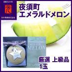 厳選上級品[A-035]夜須エメラルドメロン/1玉