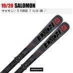 旧モデル SALOMON サロモン スキー板 S/FORCE 7 + L 10 GW エスフォース 19-20 L40916200 金具付 19/20 デモ 基礎 オールラウンド 2020