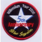 航空自衛隊・ブルーインパルス2000年度(スタークロス)パッチ黒(ベルクロなし)