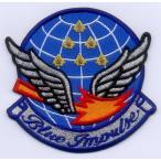 航空自衛隊 ブルーインパルス(マークT-4)パッチ(ベルクロ付き)
