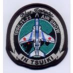航空自衛隊 T-4ブルーインデビューパッチ(築城)ベルクロなし