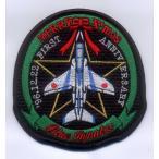 航空自衛隊 T-4ブルーインデビューパッチ(創設一周年)ベルクロなし