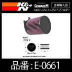 K&N リプレイスメントフィルター MERCEDESBENZ A45/CLA45/GLA45 AMG ('13-)用〔E-0661〕